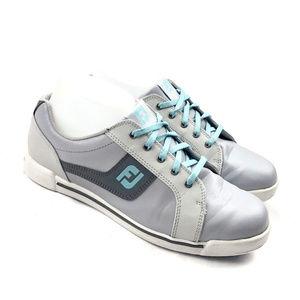 FootJoy Lady GreenJoy Golf Shoes Women Grey/Turq.